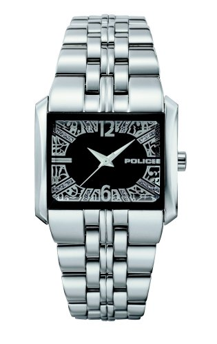 Police 11332LS-02M Ladies W-Matrix Black Dial Stainless Steel Bracelet Watch