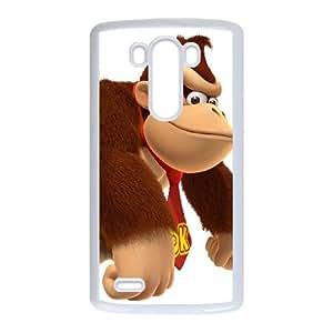 LG G3 Cell Phone Case White_Super Smash Bros Donkey Kong_015 Ibltg