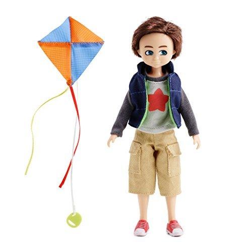 Lottie Kite Flyer Finn Doll Brown Hair and Green Eyes ()