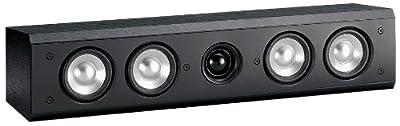Yamaha NS-C310BL 2-Way Bass-Reflex Center Speaker - Each (Black)