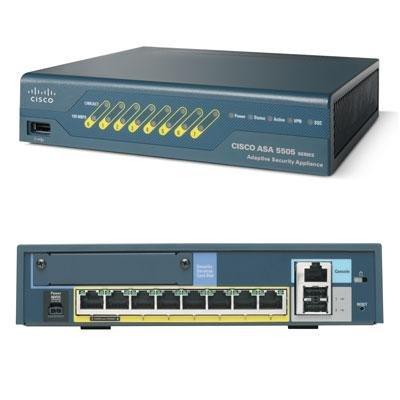 ASA 5505 Security App Refurb (ASA5505-BUN-K9-RF) - (Bun 5505)