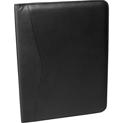 Royce Leather Writing Padfolio (Black) (Nappa Leather Writing)