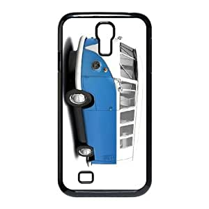 Samsung Galaxy S4 I9500 Phone Cases Black VW Minibus Teal FXC541393