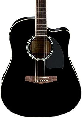 Ibanez PF Series PF15ECE Dreadnought Cutaway Acoustic-Electric Cutaway Guitar,