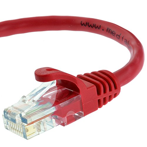 Mediabridge Ethernet Cable (15 Feet) - Supports Cat6 / Cat5e / Cat5 Standards, 550MHz, 10Gbps - RJ45 Computer Networking Cord (Part# 31-599-15B )