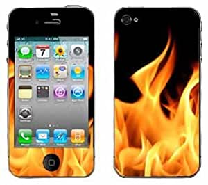 Flame Skin for Apple iPhone 4 4G 4th Generation