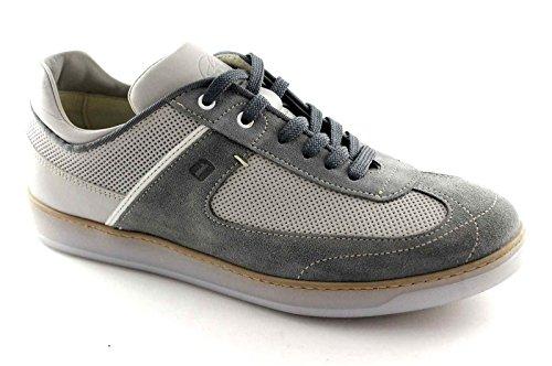 Lion 20902 Graue Schuhe Sport Männer Beiläufige Einlegesohle Gedächtnis Grigio
