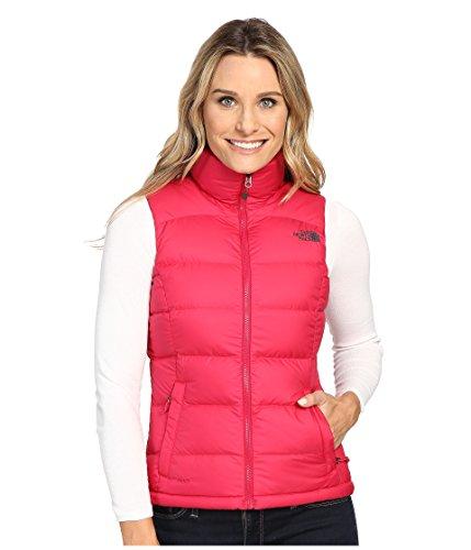 North Face Nuptse 2 Vest Women's Cerise Pink Small
