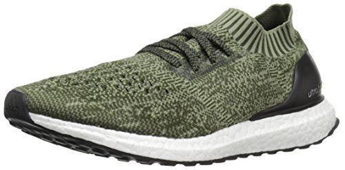 adidas Performance Men's Ultraboost Uncaged M Running Shoe Base Green/Black/Tent Green 10 M US