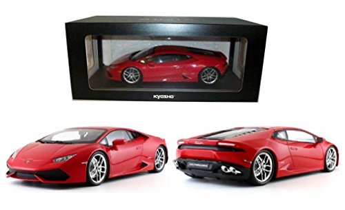 NEW 1:18 W/B KYOSHO COLLECTION - RED LAMBORGHINI HURACAN LP610-4 Diecast Model Car By KYOSHO