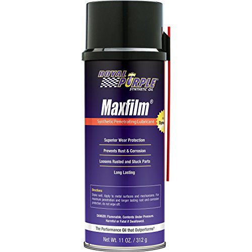 Royal Purple 15000 Maxfilm High Performance Multipurpose Synthetic Penetrating Spray Lubricant - 11 oz. (Case of 12) by Royal Purple