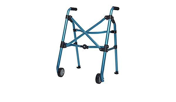 Cheng-Caminante Andador portátil Andador con Ruedas para ...