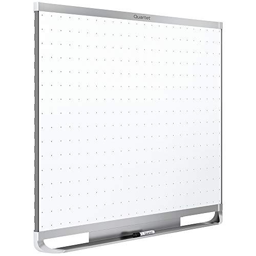 Quartet Magnetic Whiteboard, White Board, Dry Erase Board, 6' x 4', Silver Aluminum Frame, Prestige 2 Total Erase (TEM547A)