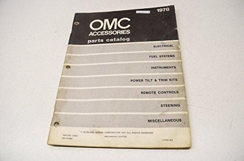 alog 1978 Accessories QTY 1 (Omc Parts Catalog)