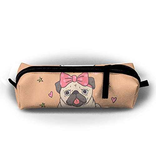 Simple Zipper Bag Stationery Box School Cute Multifunction Purse Supplies Pug TDynasty Style Gift Coins gFwxadd
