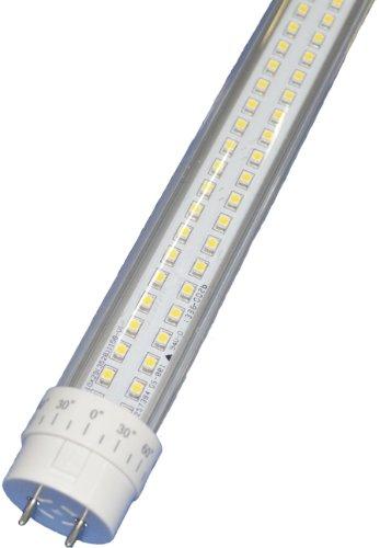 SMD LED T8 Light Tube, 2 ft, Natl White, 8W, 180LED, 85-265VAC