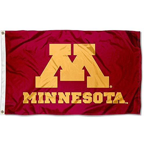 Minnesota Gophers UM University Large College Flag ()