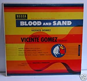 """Music From The 20th Century-Fox Picture BLOOD AND SAND (1952) 10"""" LP"""