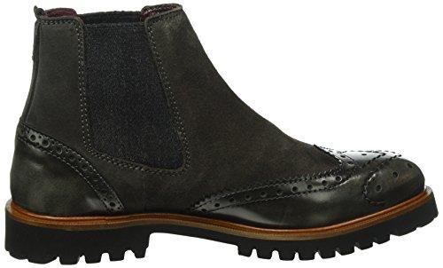 Marc O'Polo Chelsea, Zapatillas de Estar por Casa para Mujer Gris - Grau (Dark Grey 930)