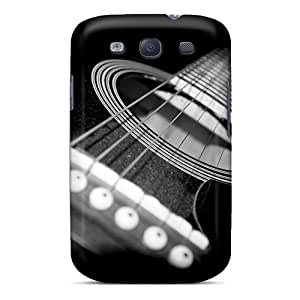 Hot Fashion LwhNqXS3595ZRujb Design Case Cover For Galaxy S3 Protective Case (guitar)