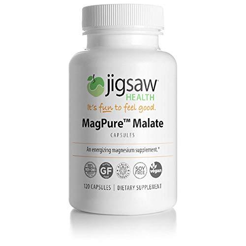 MagPure Malate - Jigsaw Health - Premium Magnesium Malate Capsules - 120 ct