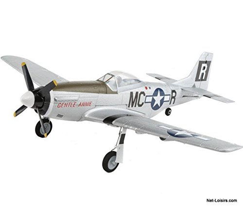 - E-flite UMX P-51D BL BNF Basic with AS3X, EFLU3350