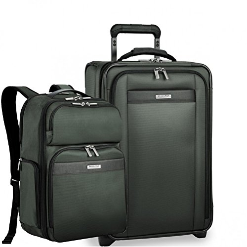 (Briggs & Riley Transcend VX Expandable Carry-On & Backpack (Rainforest))
