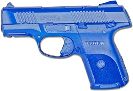 ACK, LLC Ring's Blue Guns Training Weighted Ruger Sr9 Compact Gun