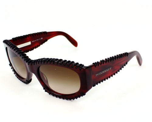 Burberry Sunglasses BE 4120 Q 332213 Acetate Red Gradient - Burberry Red Sunglasses