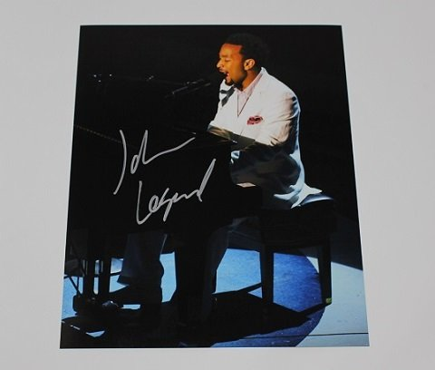 Amazon.com: John Legend Get Lifted Signed Autographed 8x10 ...