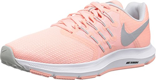 Nike Women's WMNS Run Swift, Bleached Coral/Wolf Grey, 6.5 - Bleached Coral