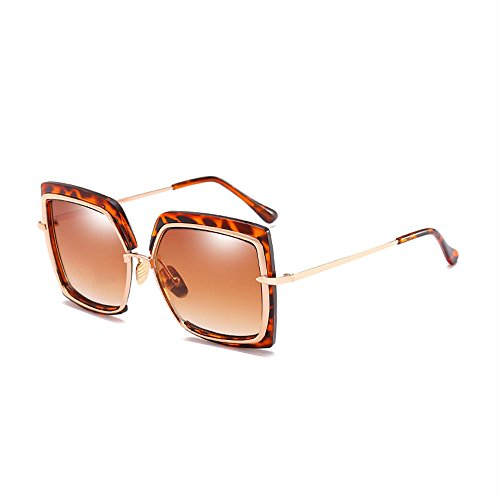 polarisées réfléchissant de couleur plein Lunettes Sports adapté pilote miroir de lunettes grenouille d'irrégularité de brown pilote polarized soleil cadre air pour Voyager de grand Film voler ZBxEaTB
