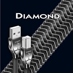 AudioQuest Diamond 3m (10.0 ft.) USB Cable A-B by AudioQuest