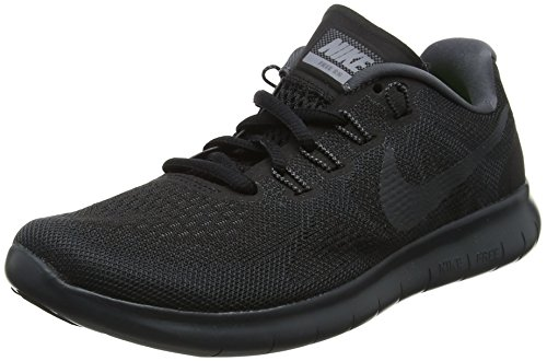 Nike Free RN 2017, Chaussures de Running Femme Noir (Black/anthracite/dark Grey/cool Grey 003)