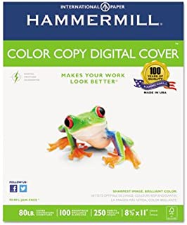 product image for Copier Digital Cover Stock, 80 lbs, 8 1/2 x 11, Photo White, 250 Sheets, Total 8 PK