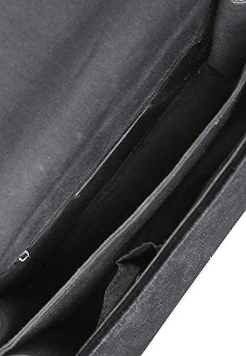 femme Rag Noir Taille pour BG5223 unique London Sac bandoulière Noir xXTRfw