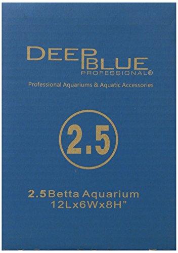 Deep-Blue-Acrylic-Professional-ADB11001-Standard-Aquarium-Tank-25-Gallon