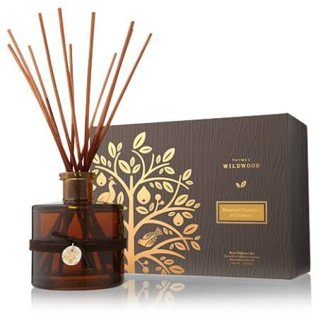 Thymes Brandied Pumpkin and Chestnut Reed Diffuser by Thymes