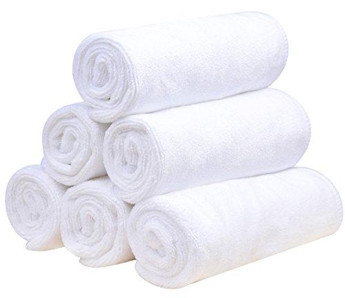 Sinland Microfiber Facial Cloths Fast Drying Washcloth
