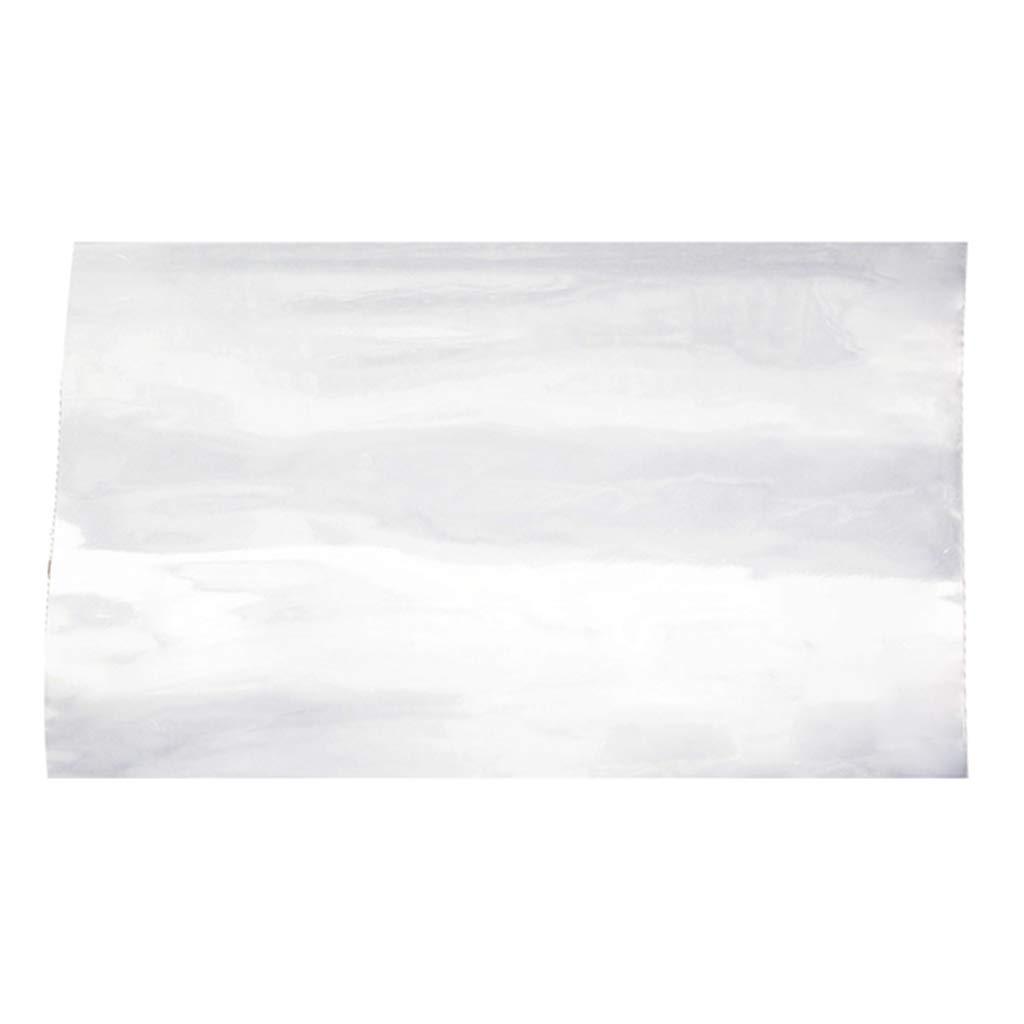 Silicone Film High Temp Thin Rubber Sheet Gasket Super Clear Flexible 12x19.7 x1/32 inch