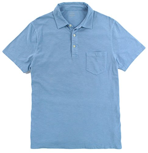 J.Crew - Men's - Broken-in Polo (Multiple Size/Color Options) (Large, Misty Sea) from J.Crew