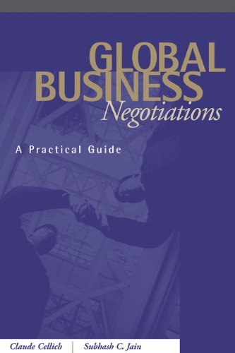 Download Global Business Negotiations: A Practical Guide: 1st (First) Edition PDF