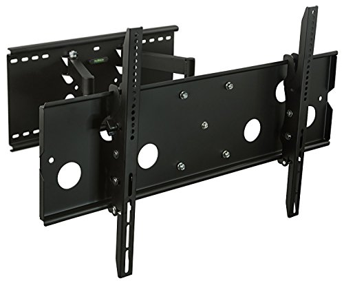 Mount-It! TV Mount Full Motion Heavy-Duty Swivel Fits 32-60 inch Screen LCD OLED Plasma 4K Flat Panel Screen VESA up to 750x450, 175 lb Capacity, Black Commercial Lcd Monitor