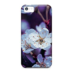 Fashion Tpu Case For Iphone 5c- Spring Blossoms Spring Desktop Defender Case Cover