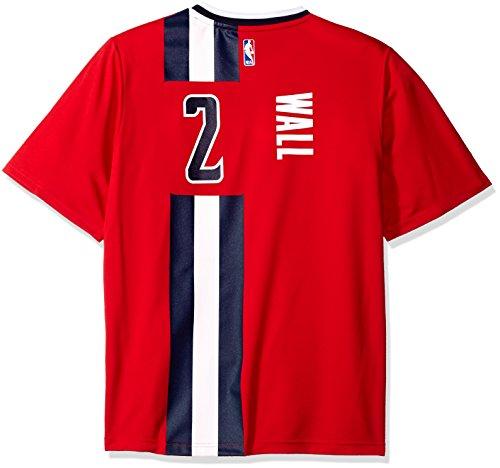 NBA Washington Wizards John Wall #2 Men's Pride Replica Jersey, Medium, Red