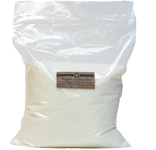 100% Midwest Soy Container Wax by American Soy Organics (5 pound bag) (Organic Candle Wax)