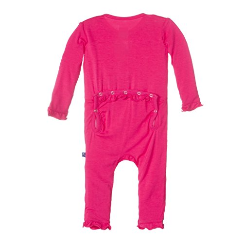 KicKee Pants Baby Girls Solid Muffin Ruffle