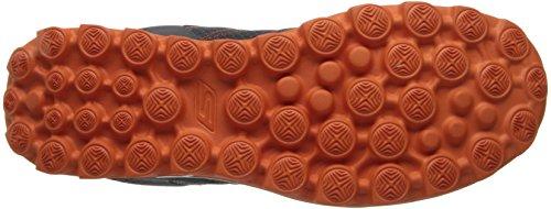 Skechers GO Walk 2Flash - Zapatillas para hombre Gris (Charcoal/Orange)