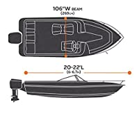 AmazonBasics Boat Cover For V-Hull Runabouts