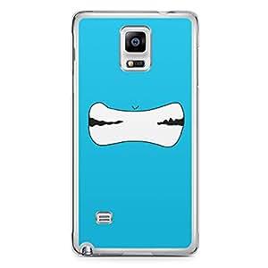 Smiley Samsung Note 4 Transparent Edge Case - Design 13